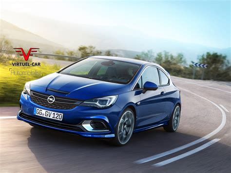 opel astra 2017 opel astra opc rendered could use tuned 1 6 liter