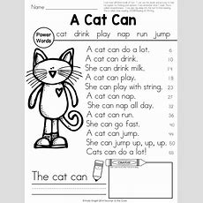 Ideas For Teaching Fluency In First Grade!  Teacher To