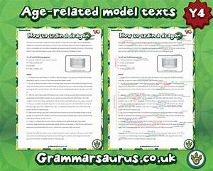 Year 4 - Model Text - Instructions