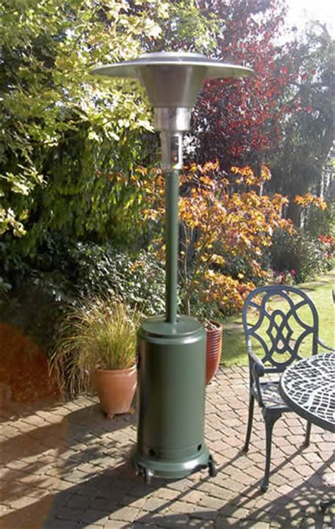 patio heater complete with gas cylinder catering