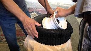 How To Dismount And Mount Lawn Mower Tire