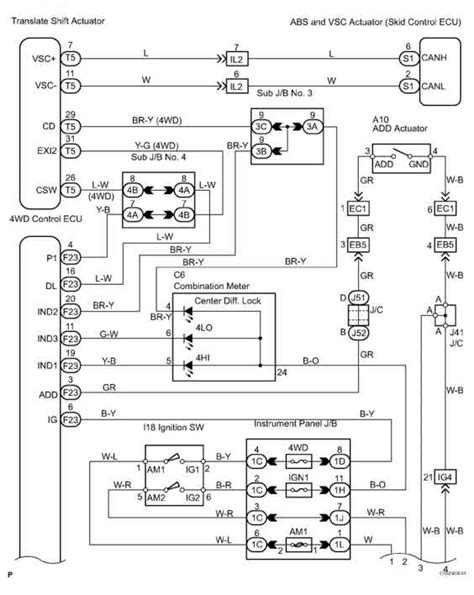 2002 toyota sequoia wiring diagram toyota sequoia 2006