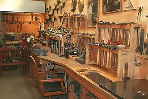 Workshop on Pinterest Woodworking Shop, Workbenches and