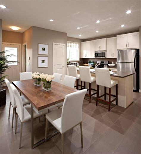 sol cuisine ouverte la cuisine ouverte sur la salle à manger 55 photos