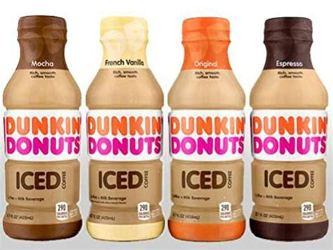 Dunkin Donuts Bottled Ice Coffee (4 Flavor Variety Pack