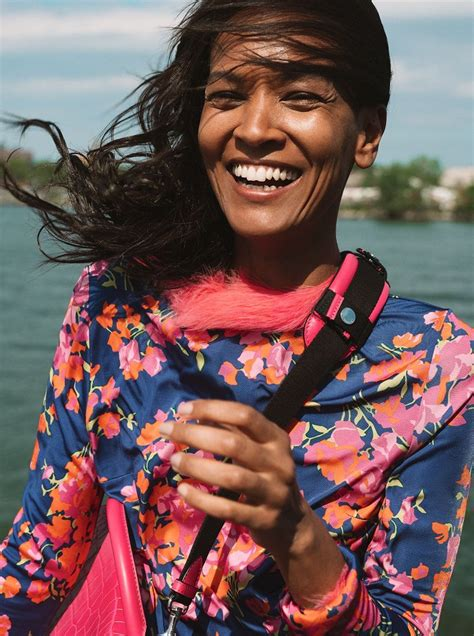 liya kebede sunday times style  cover street style editorial fashion  rogue