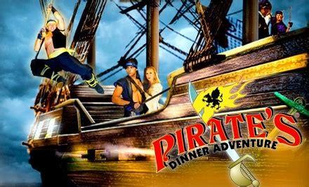 Wraparound entertainment puts you in a spanish galleon. Pirate's Dinner Adventure in - Orlando, Florida | Groupon