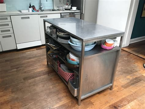 freestanding kitchen island unit for sale freestanding stainless steel kitchen island unit buy and sell items in clarkston
