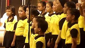 Malaysia children choir rehearsal.....at Studio1 RTM ...