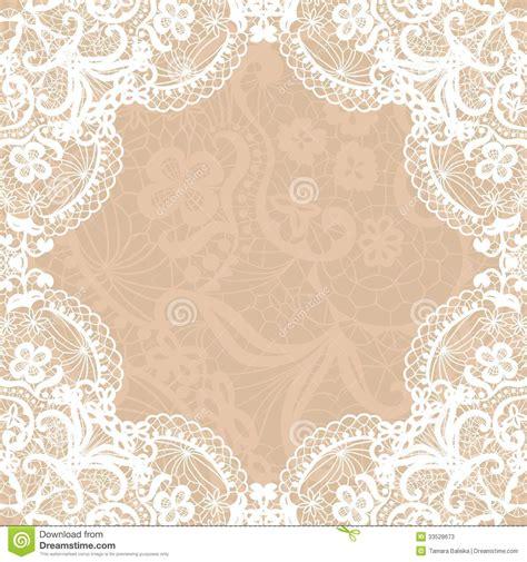 Wedding Invitation Templates Lace