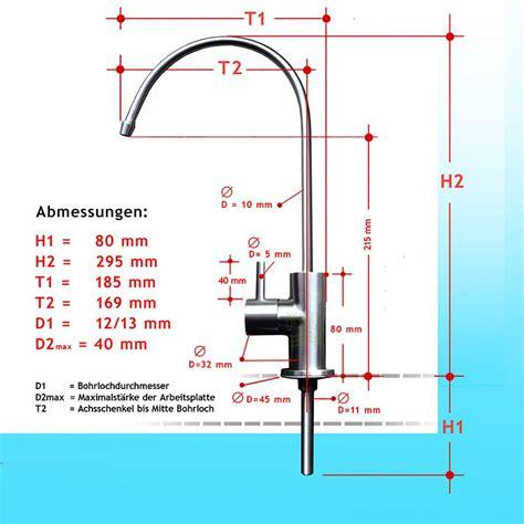 Wasserhahn Edelstahl Gebürstet by Edelstahl Wasserhahn Arabella Geb 252 Rstet Mit Keramikventil