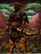 African Warrior Art Af...
