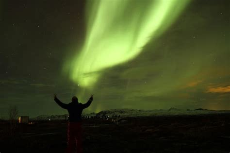iceland in february northern lights iceland northern lights 23 february picture of reykjavik
