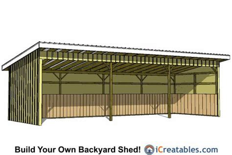 loafing shed plans free 12x30 run in shed lean to shed plans run in shed