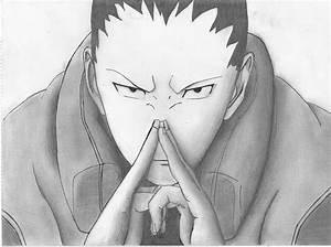 Shikamaru Nara - Team Asuma | Daily Anime Art