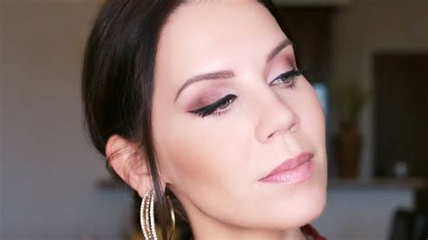 tutorial cranberry eye  matte makeup youtube