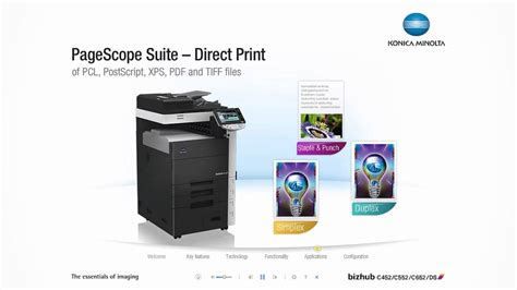 Find everything from driver to manuals of all of our bizhub or accurio products. Konica Minolta bizhub C452, C552, C652DS - YouTube
