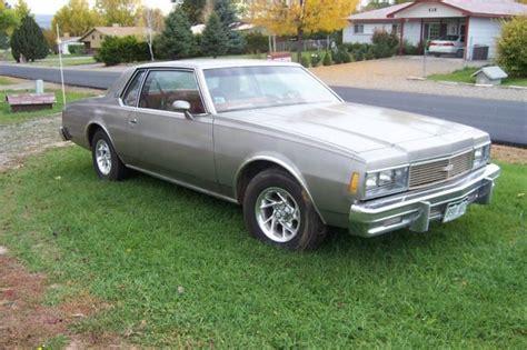 Seller Of Classic Cars  1979 Chevrolet Impala (sliver