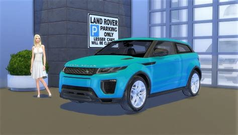 lory sims land rover range rover evoque sims  downloads