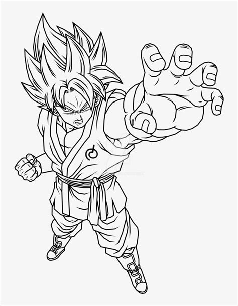 Goku Super Saiyan 7 Free Colouring Pages