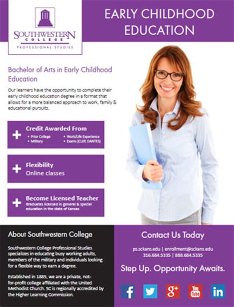 college courses  early childhood education