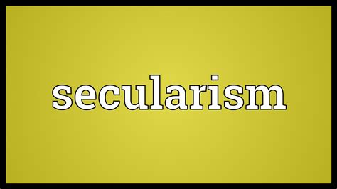 Meaning Of Image Secularism Meaning
