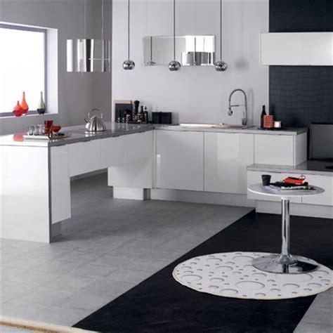 cuisine blanche laquee déco cuisine laquée blanche