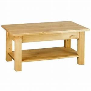 Table Basse Rustique : table basse rustique table basse ronde blanche maisonjoffrois ~ Teatrodelosmanantiales.com Idées de Décoration