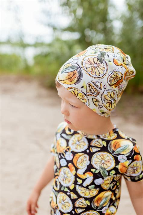 CITRONU cepure bērniem, DZELTENA - - Aksesuāri - e-VEIKALS ...