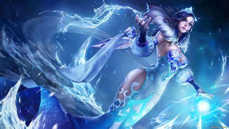 king  glory zhen ji ice girl desktop hd wallpaper