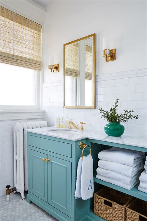 turquoise bathroom cabinet bathroom with turquoise vanity amie corley interiors bathroom love pinterest vanities