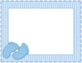 Baby Blue Vector Frame