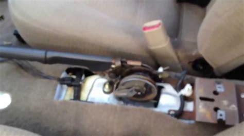 ford mustang airbagcontrol module replacerepair