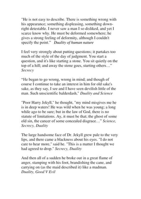 Jekyll and Hyde - Chapter 1 AQA New Specification by