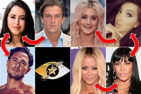 celebrity big brother 2016 rumoured romances friendships