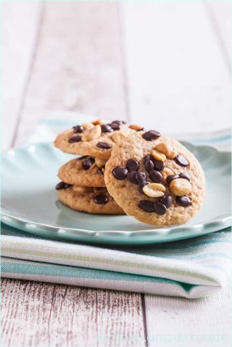 chewy peanut butter cookies backen macht gluecklich