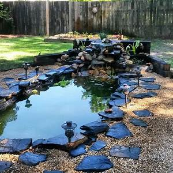 DIY Koi pond and waterfall | Koi ponds | Pinterest ...