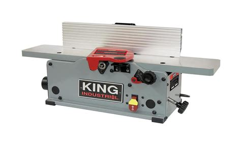king  benchtop jointer  helical cutterhead