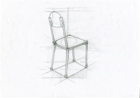 dessin de chaise en perspective dessin d observation institut luc