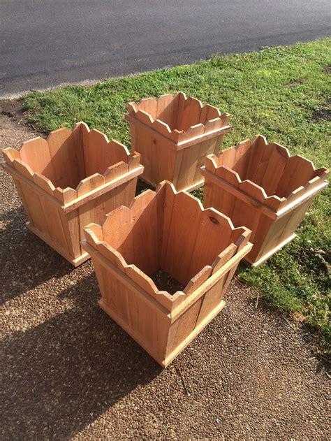 cedar fence picket planter boxes work dad balance