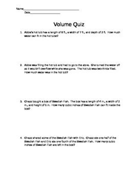 volume word problems 5th grade common word problems