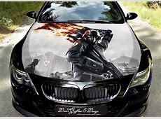 Soldier Full Color Graphics Wrap Decal Vinyl Sticker Fit