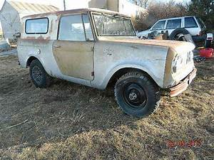 2 Ih International Scout 1965 And 196  Half Cab Full Top