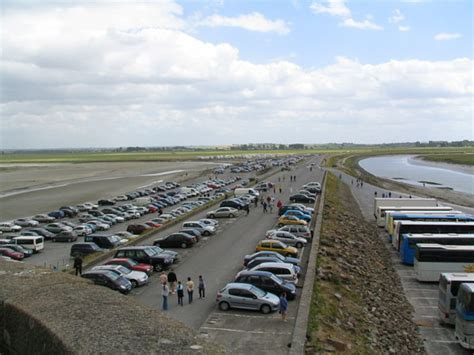 parking mont st michel normandy 2004