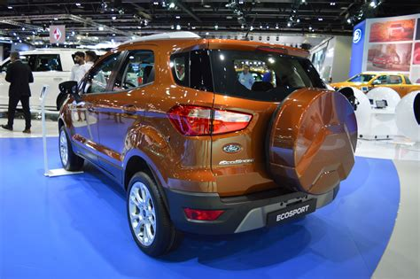 2018 Ford Ecosport Showcased At The 2017 Dubai Motor Show