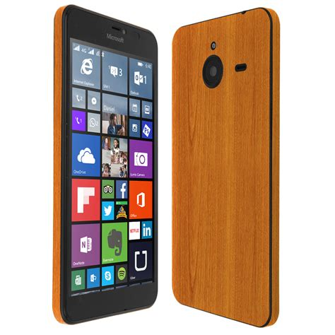 microsoft lumia skinomi techskin microsoft lumia 640 xl light wood skin