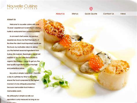 cuisine nouvelle nouvelle cuisine various