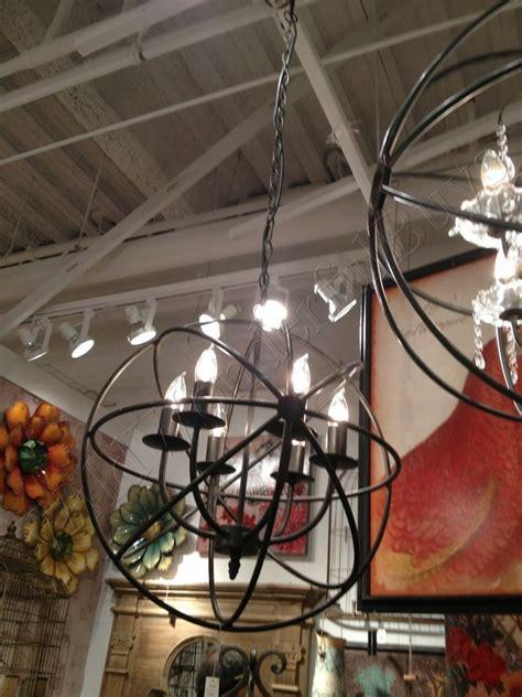metal sphere chandelier orb light fixture bronze