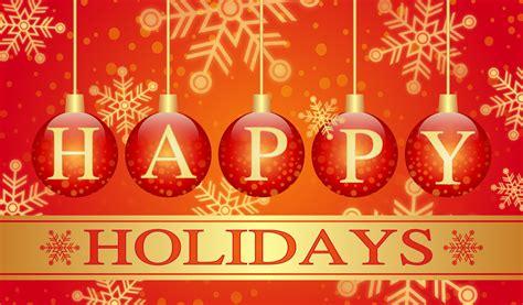 clipart happy holidays card
