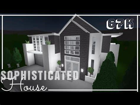 roblox bloxburg sophisticated house advanced placing youtube family house plans